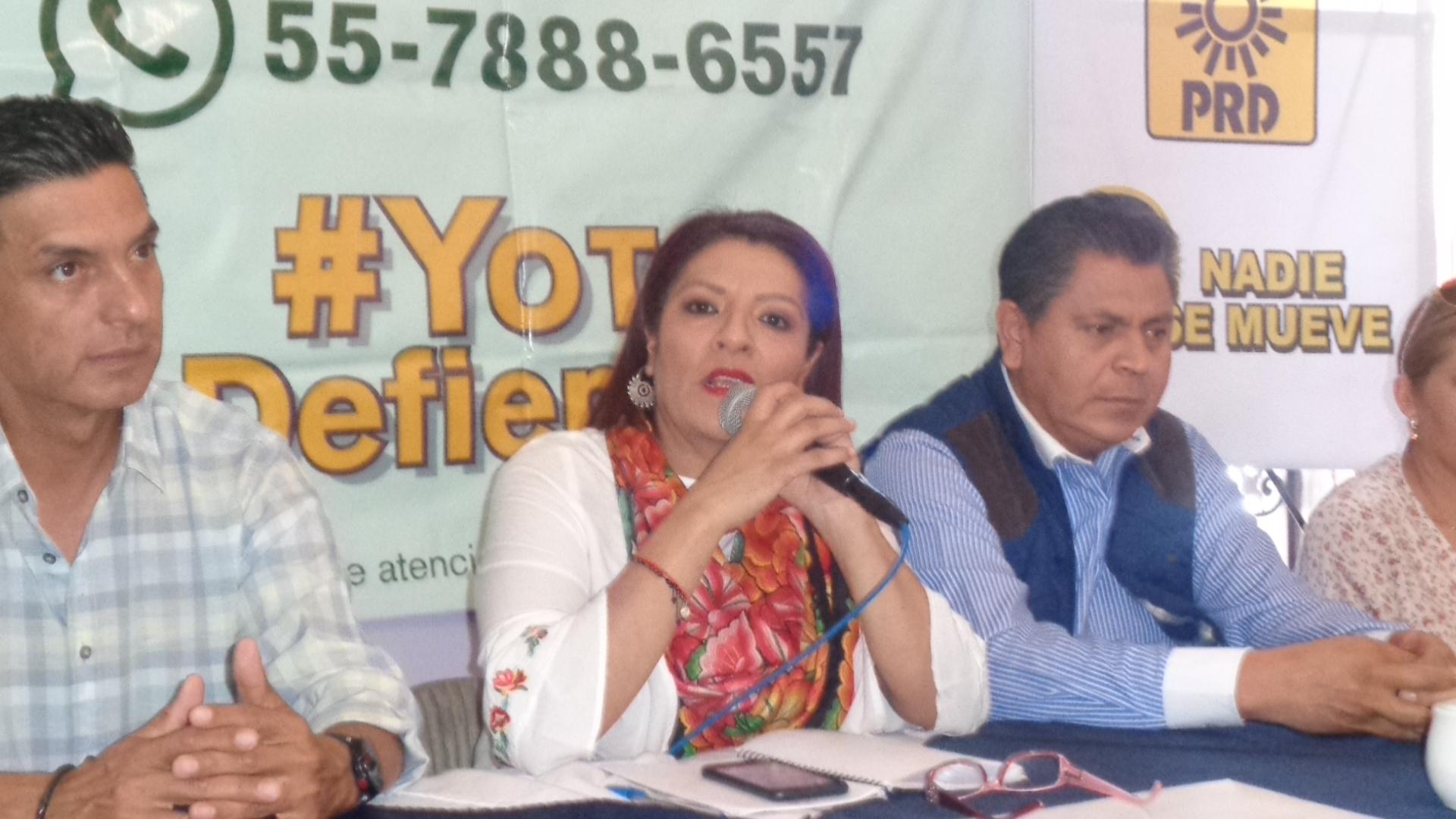 """PRD nacional se suma al movimiento """"Un Día Sin Nosotras"""": Claudia Gastelum"""