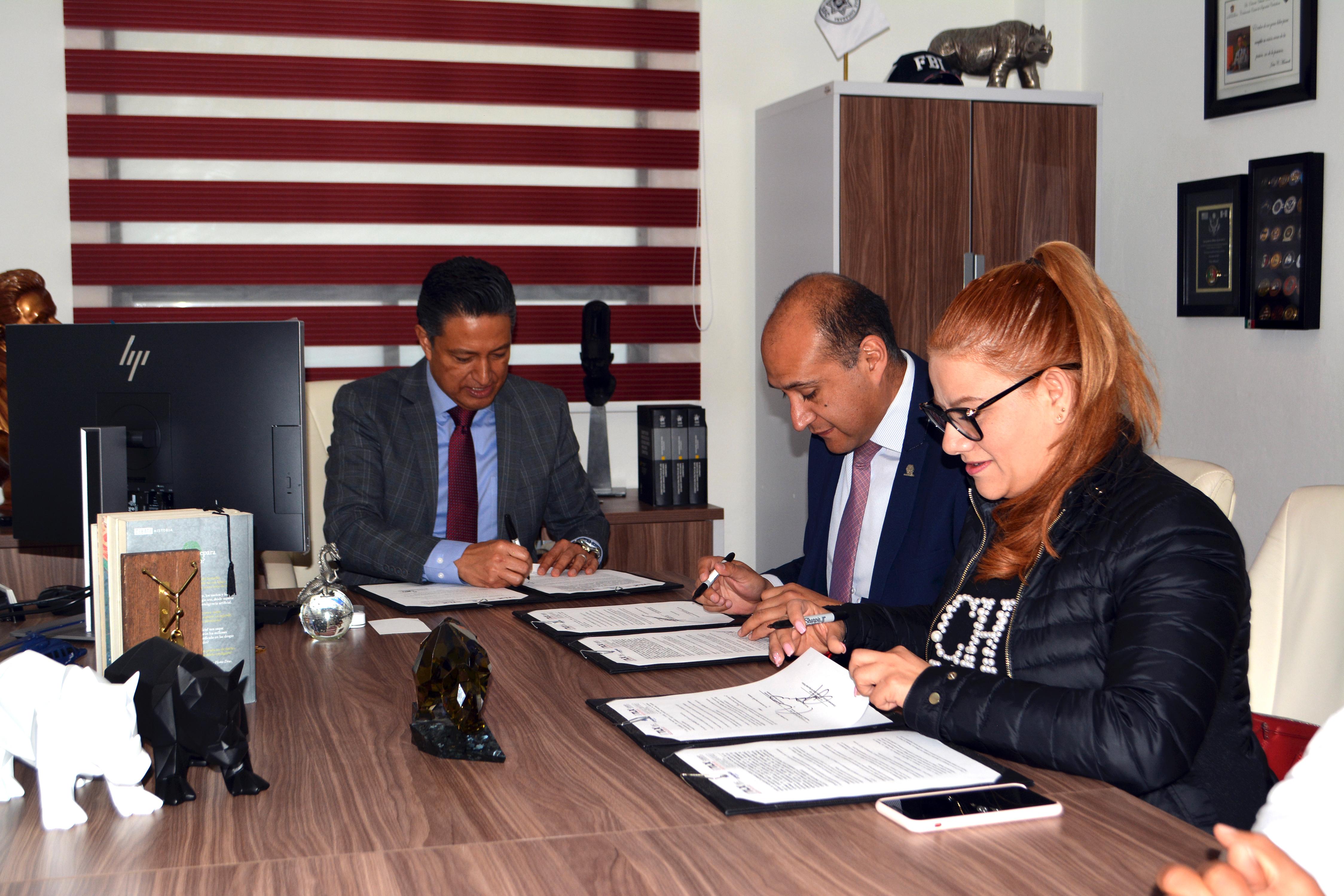 Suma SSC a COPARMEX Tlaxcala en estrategia de profesionalización de instituciones de seguridad pública