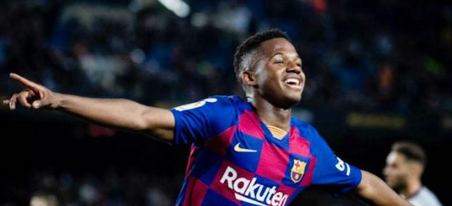 Comanda Ansu Fati victoria del Barcelona ante Levante en Camp Nou