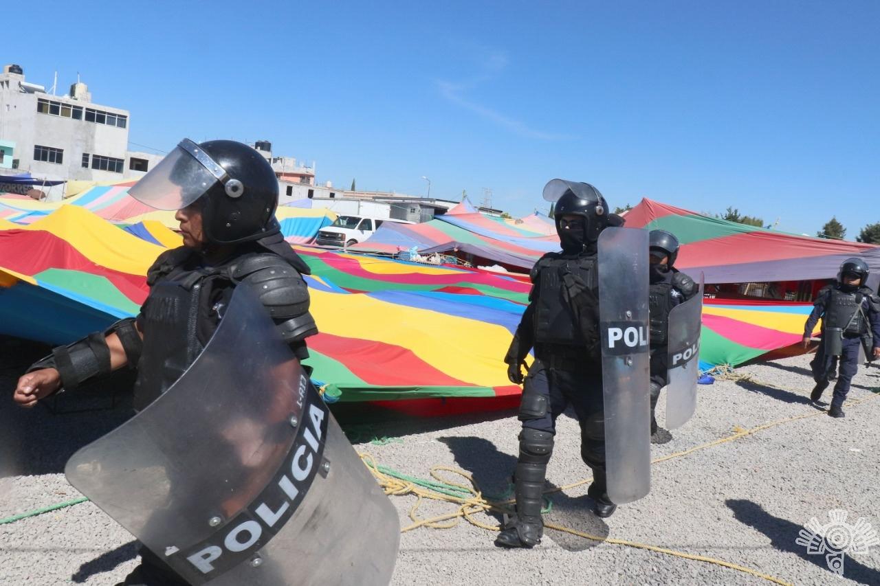 Más de 3 mil detenidos y 408 armas aseguradas de agosto a la fecha, informa la Secretaría de Seguridad Pública estatal