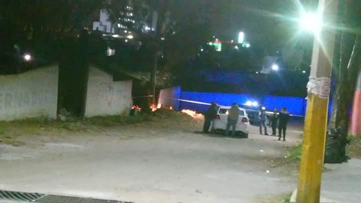 Localizan el cadáver de un masculino calcinado en Santiago Momoxpan