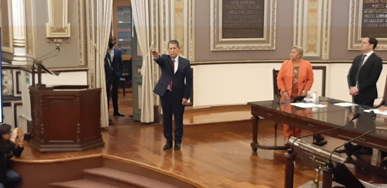 El Congreso de Puebla designa a Gilberto Higuera Bernal como nuevo Fiscal General del Estado
