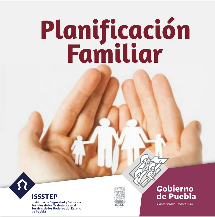 Invita ISSSTEP a segunda Jornada de Planificación familiar del año
