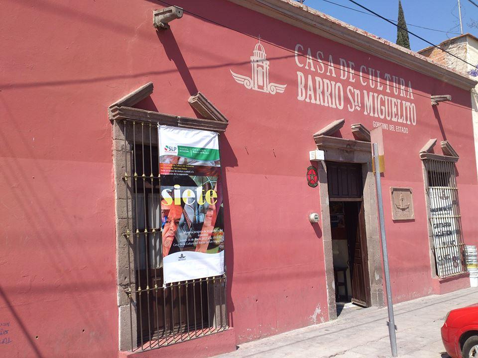 Actividades en la Casa de Cultura del Barrio de San Miguelito