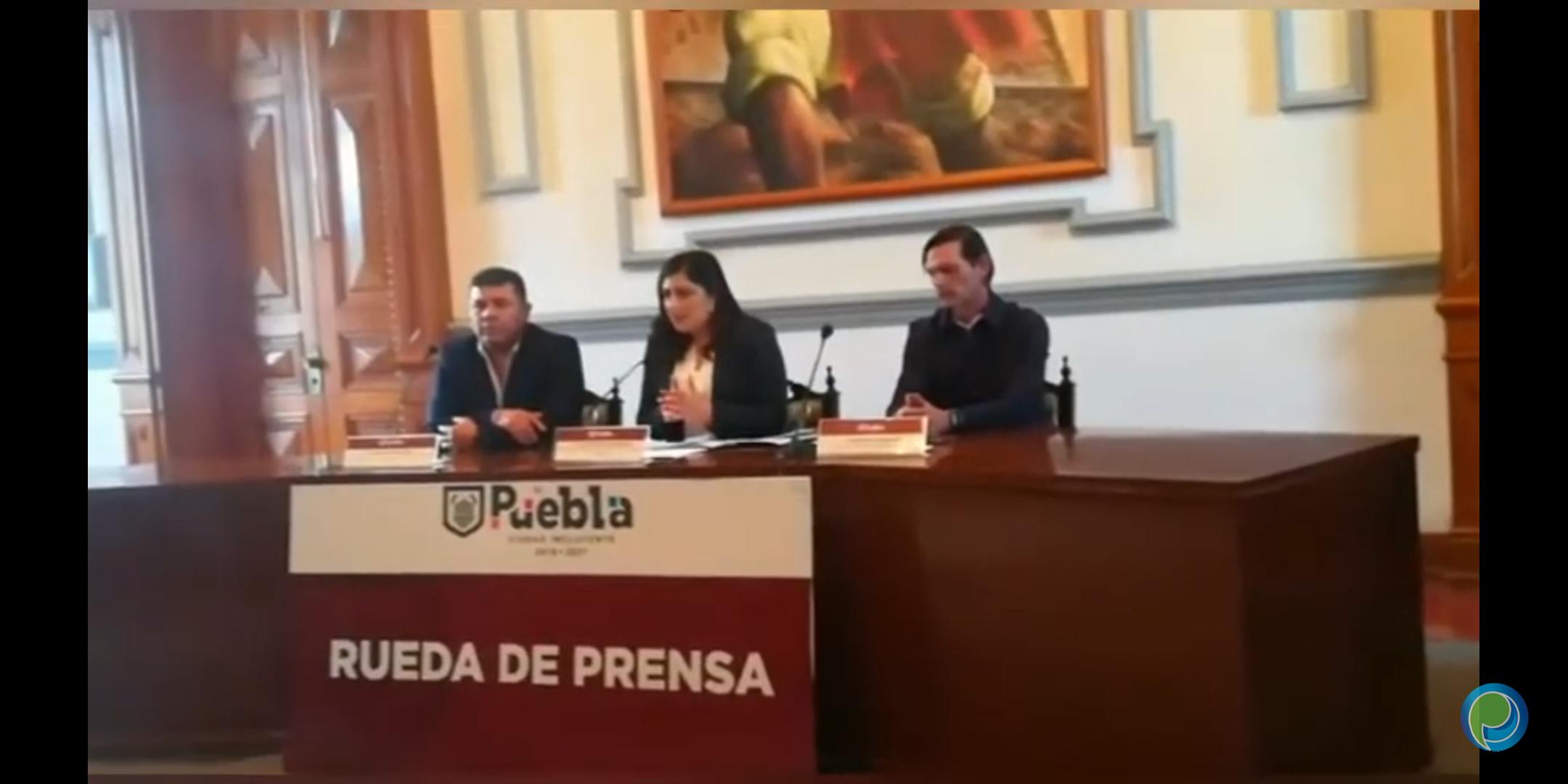 Presidenta Claudia Rivera realiza cambios en su gabinete