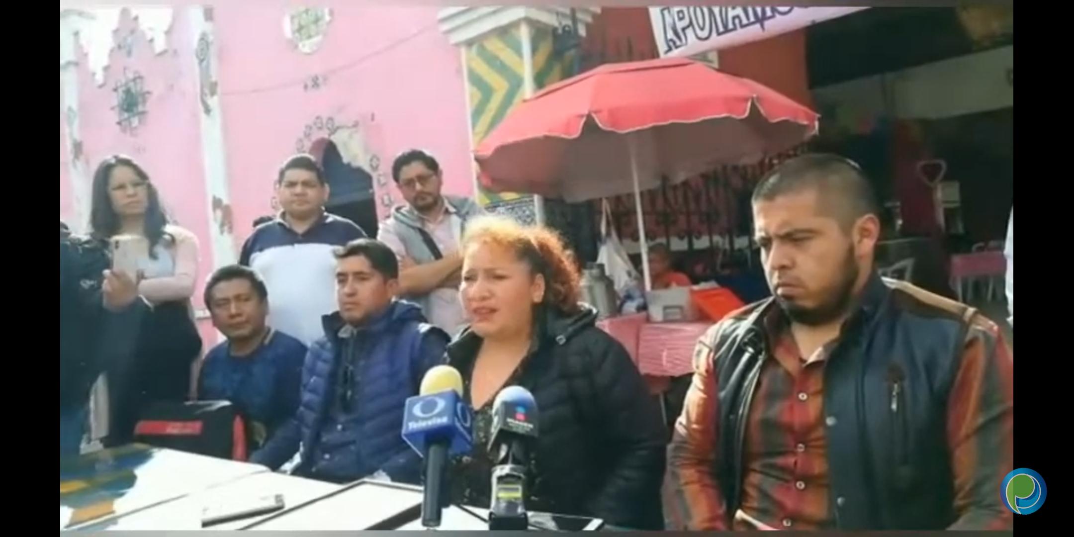 Vecinos del barrio de El Alto quieren la Estrella de Puebla en su colonia