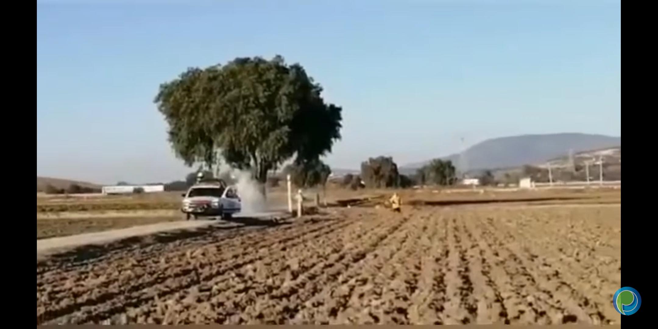 Fuga de gas pone a la gente alerta en Tepeaca