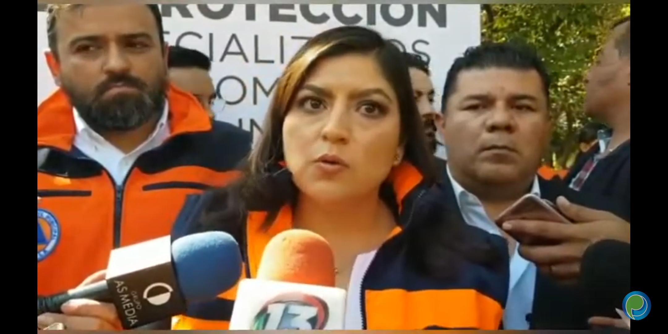 Presidenta Claudia Rivera respalda a Alejandra Rubio por solicitar licencia