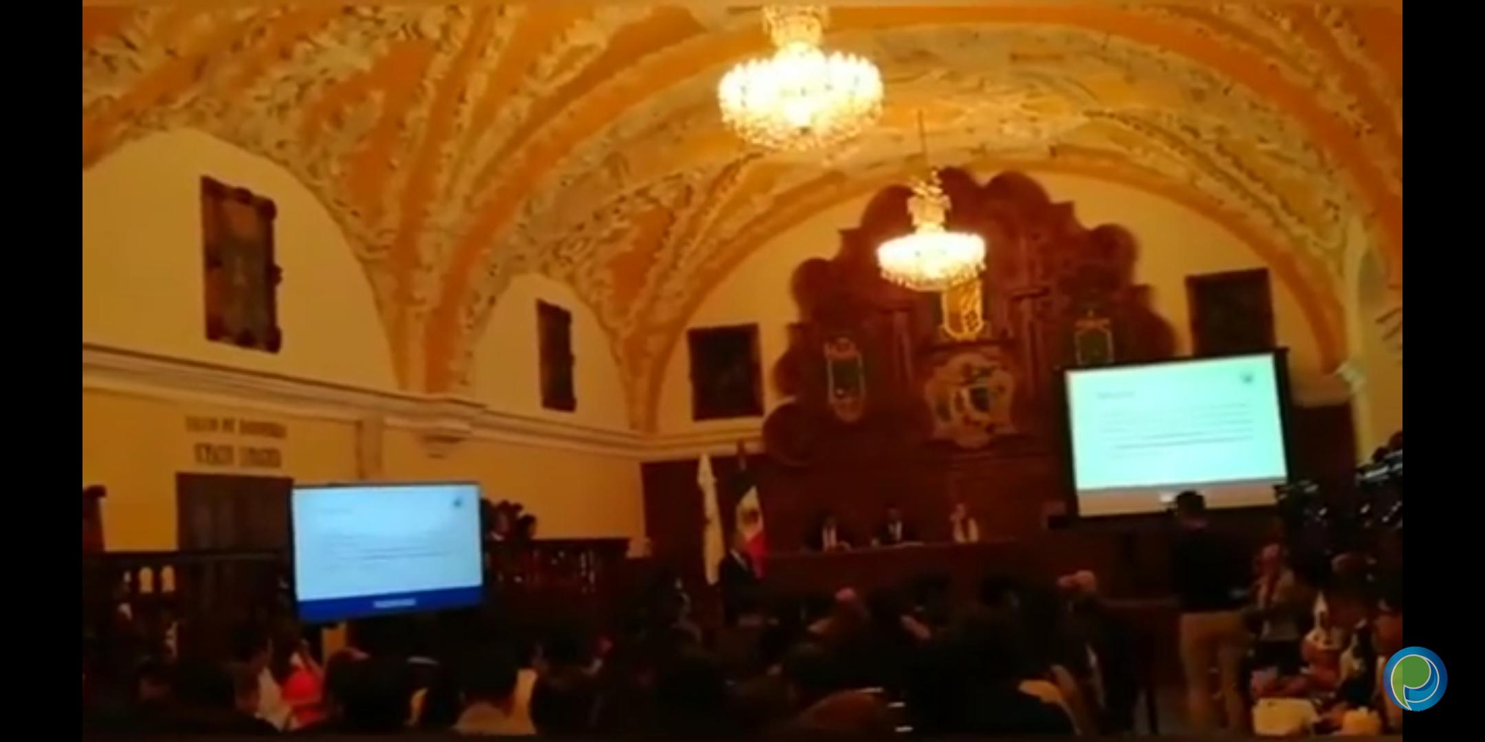 Tesorero de la BUAP presentó el proyecto de Egresos del 2020