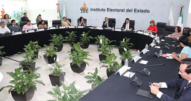 Precisa IEE Sobre acuerdo del Consejo General