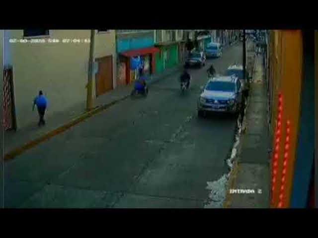 Captan a rateros de motocicletas en Texmelucan
