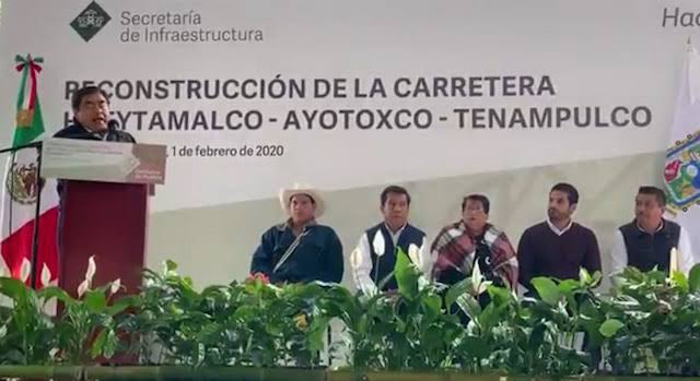 Ciudadanos de Teziutlán agradecen el apoyo del gobernador Barbosa