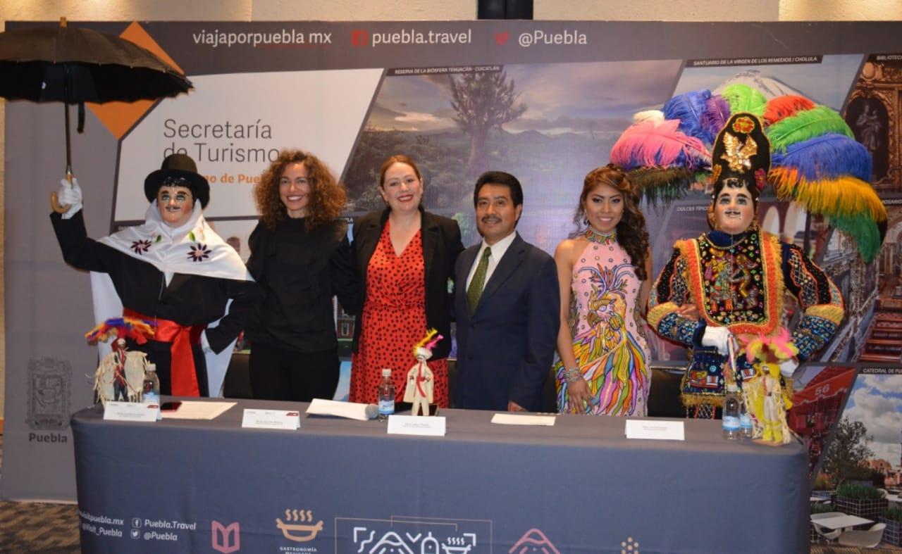 """Presenta SECTURE programa del """"Carnaval Tlaxcala 2020"""" en Puebla."""