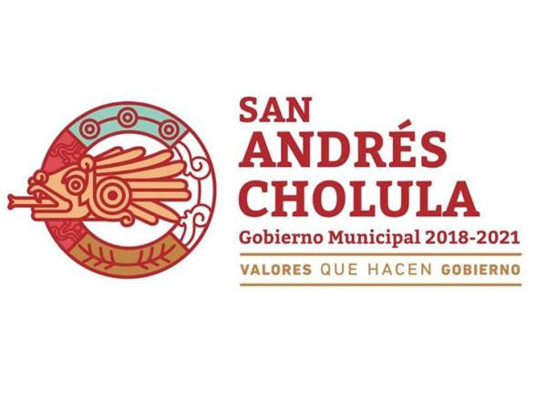Ayuntamiento de San Andrés Cholula se hace cargo en accidente que involucró uno de sus vehículos
