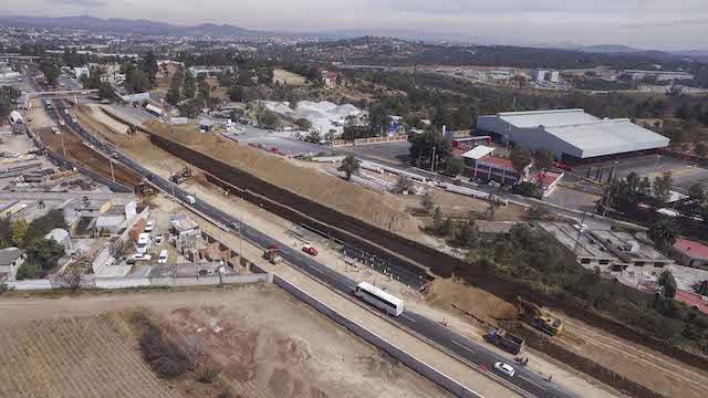 Anuncia SECODUVI cierre de carretera Tlaxcala-Apizaco para colocar trabes en Atlihuetzia