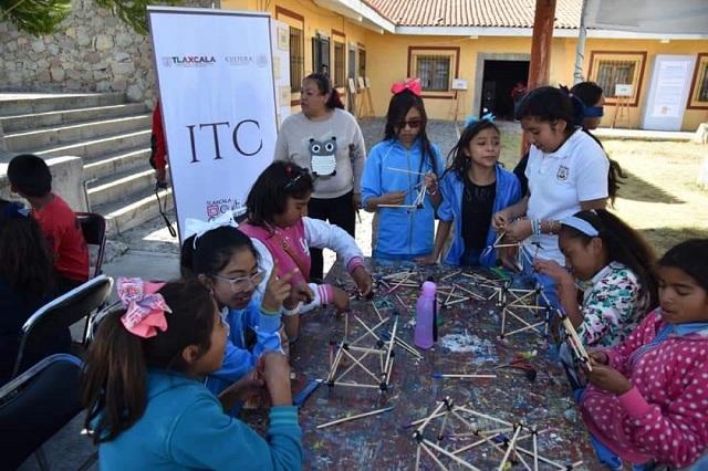 """ITC fomenta el arte en infantes a través del programa """"Alas y raíces"""""""
