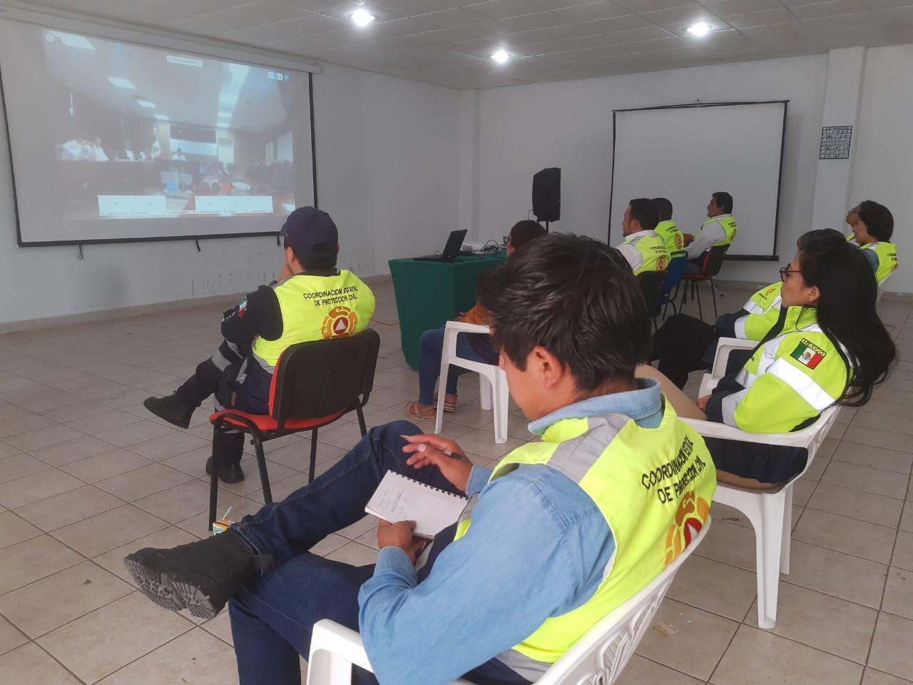 Desde Tlaxcala: Participa CEPC en conferencia sobre COVID-19