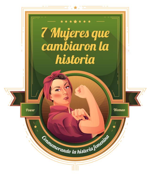 7 mujeres que cambiaron la historia