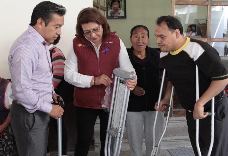 Comprueba doña Inés Juárez efectividad de Jornadas Ciudadanas del SEDIF