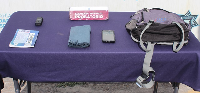 En combate frontal al robo a transeúnte en Puebla, detuvo policía municipal a cinco probables asaltantes