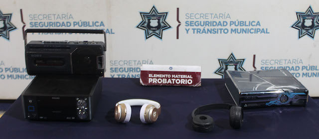 Detuvo policía municipal de Puebla a probable asaltante de casa habitación