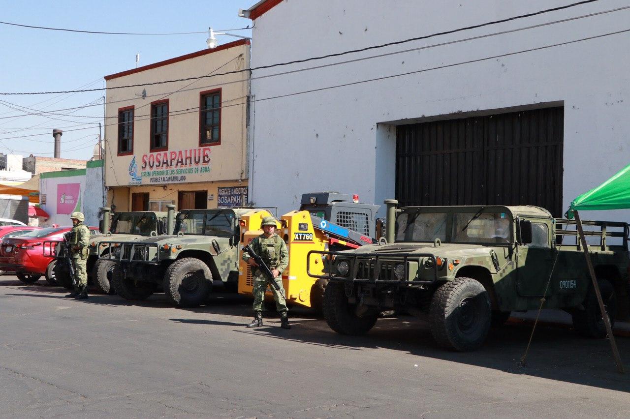 Se refuerza la seguridad en Huejotzingo con la presencia de la SEDENA