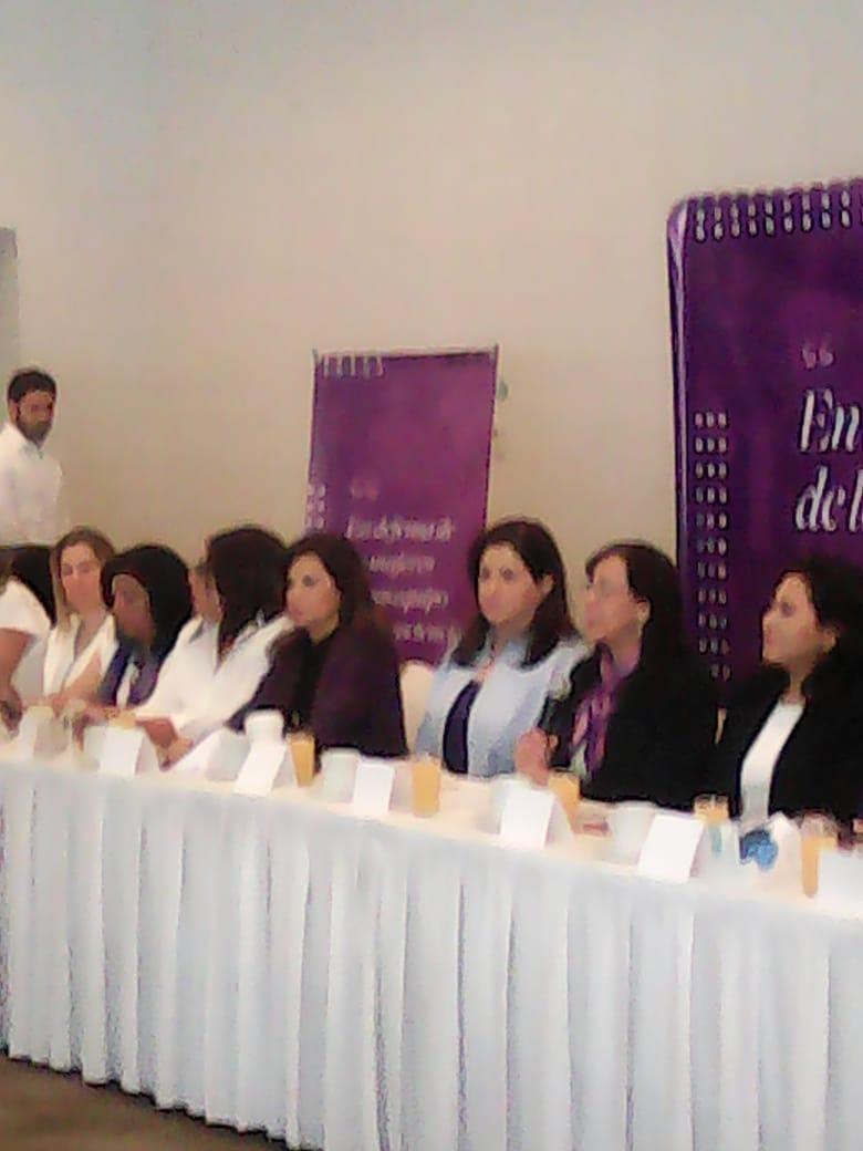 Vídeos desde Puebla: Mujeres de varios partidos presentaron el Decálogo Feminista