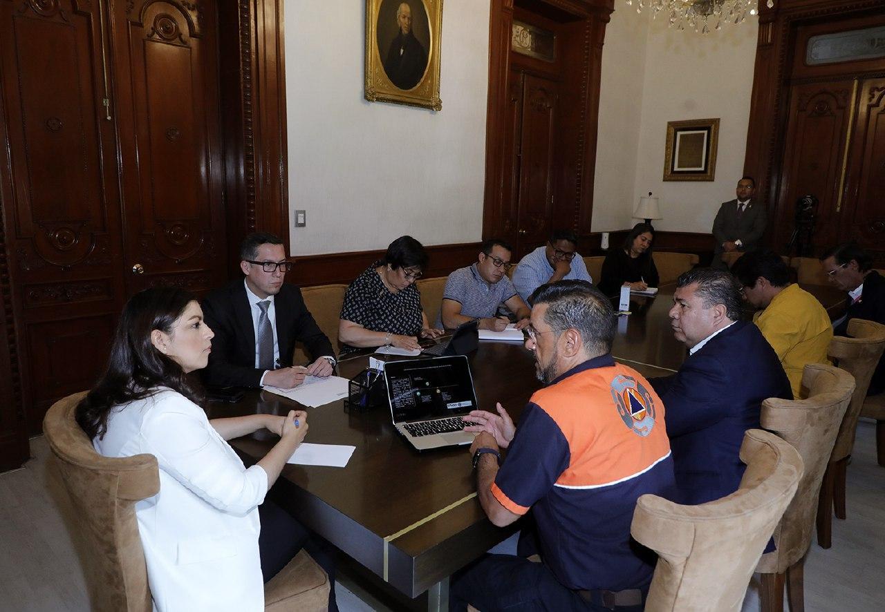 Instalan Comité de Prevención y Continuidad de Operaciones del Ayuntamiento de Puebla