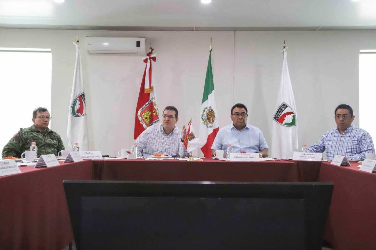 Desde Tlaxcala: Gobernador Mena coordina acciones ante el Covid-19
