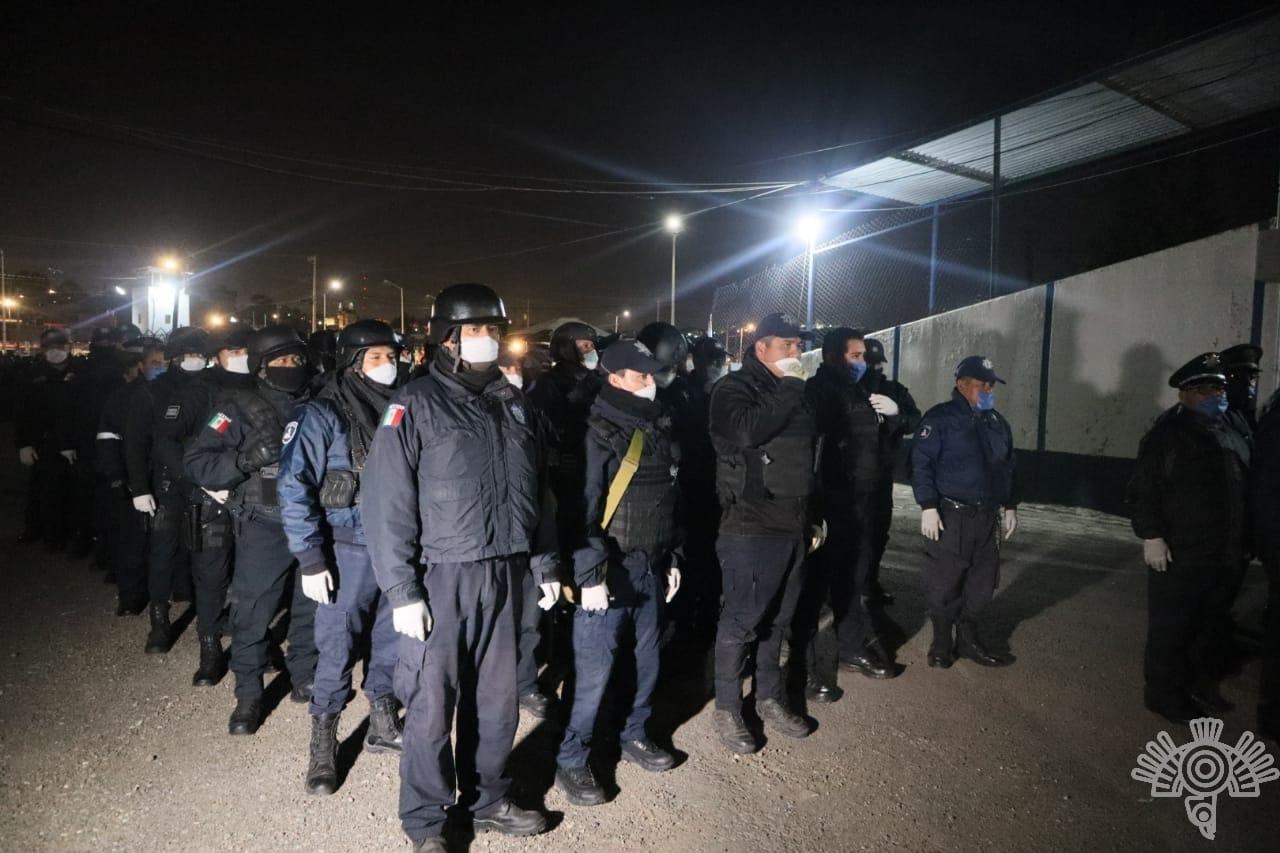 Ponen orden en penal de San Miguel tras operativo