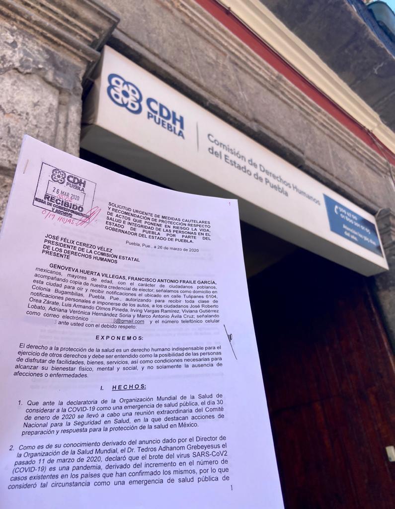 Interpone PAN queja en CDH contra Barbosa