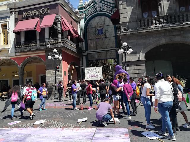 Vídeos desde Puebla: Colectivo Feminista Radical celebra las luchas de género