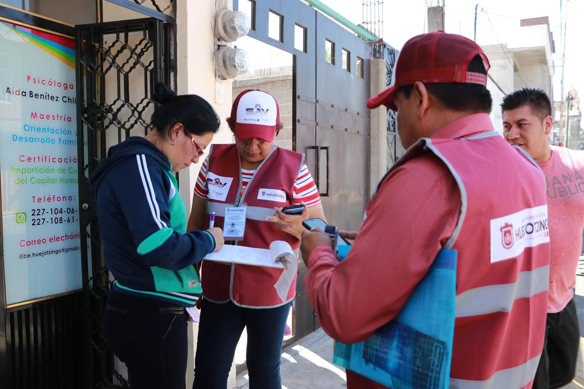 Ayuntamiento de Huejotzingo pone en marcha el Sistema de Alerta Vecinal