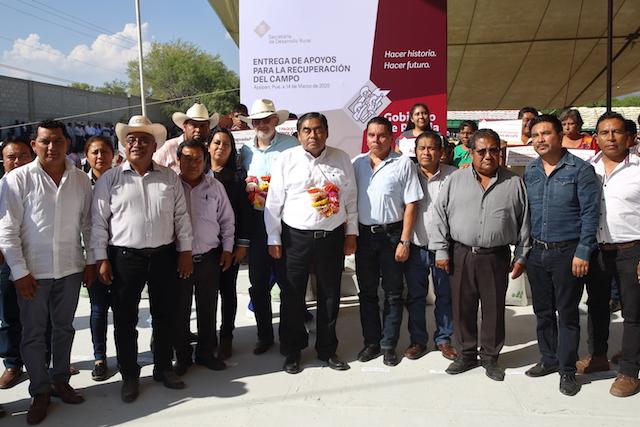 Suman Puebla 238 mdp entregados de apoyo al campo en beneficio de 12 mil productores: Ana Laura Altamirano