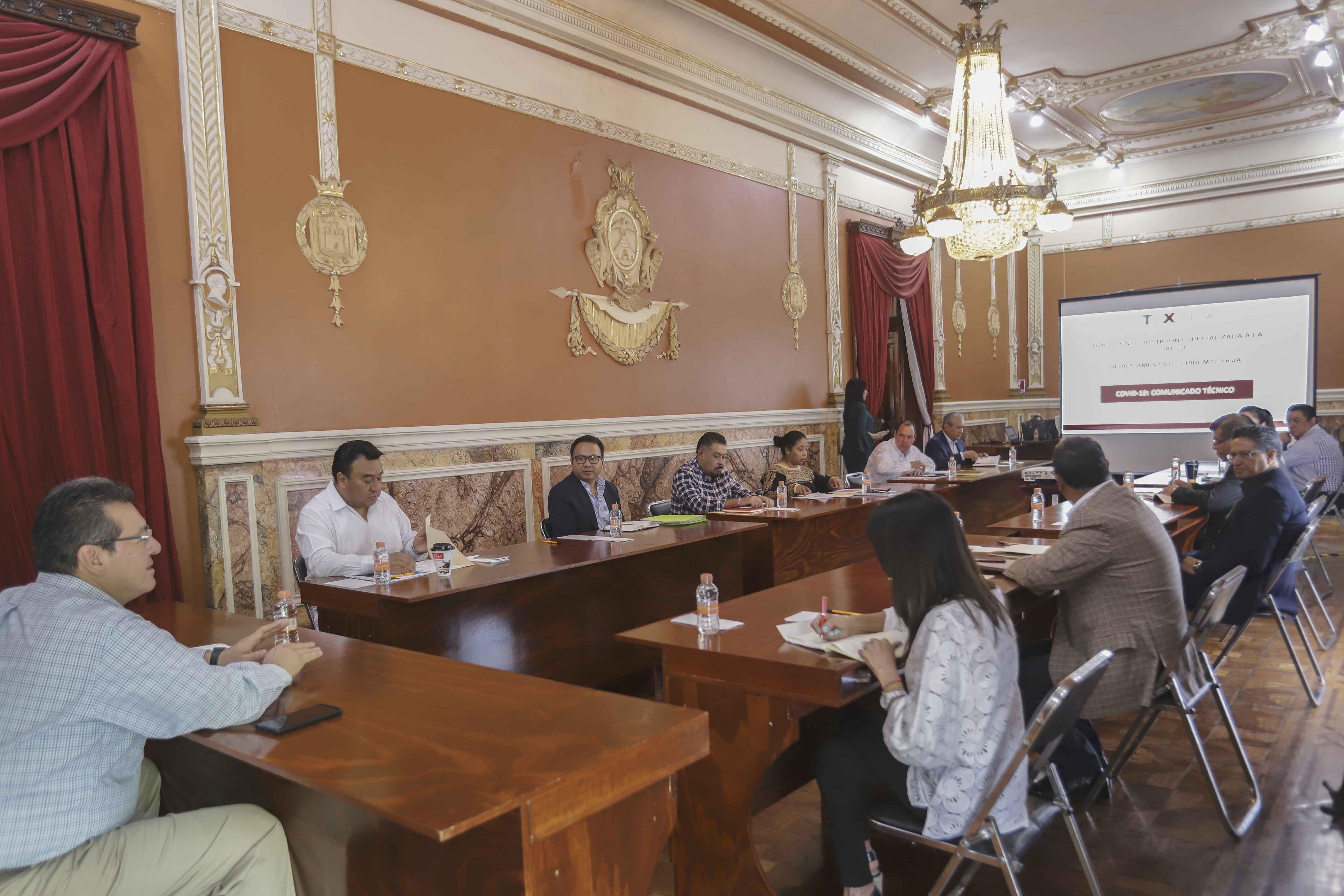 Gobierno del estado habilitará segundo hospital en Tlaxcala por Covid-19: Marco Mena.
