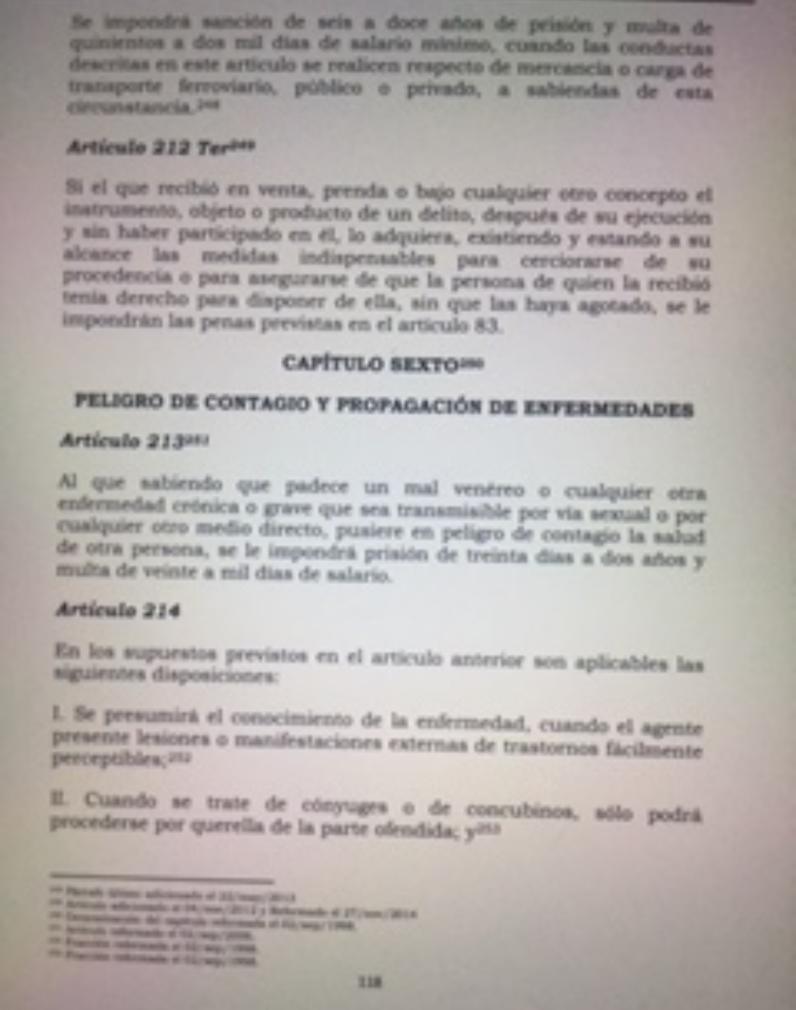 La sanción para quienes incumplan con el cierre temporal de antros, cines, centros comerciales y clubes deportivos va de 30 días de prisión a una multa de   mil 737 pesos, hasta 86 mil 880