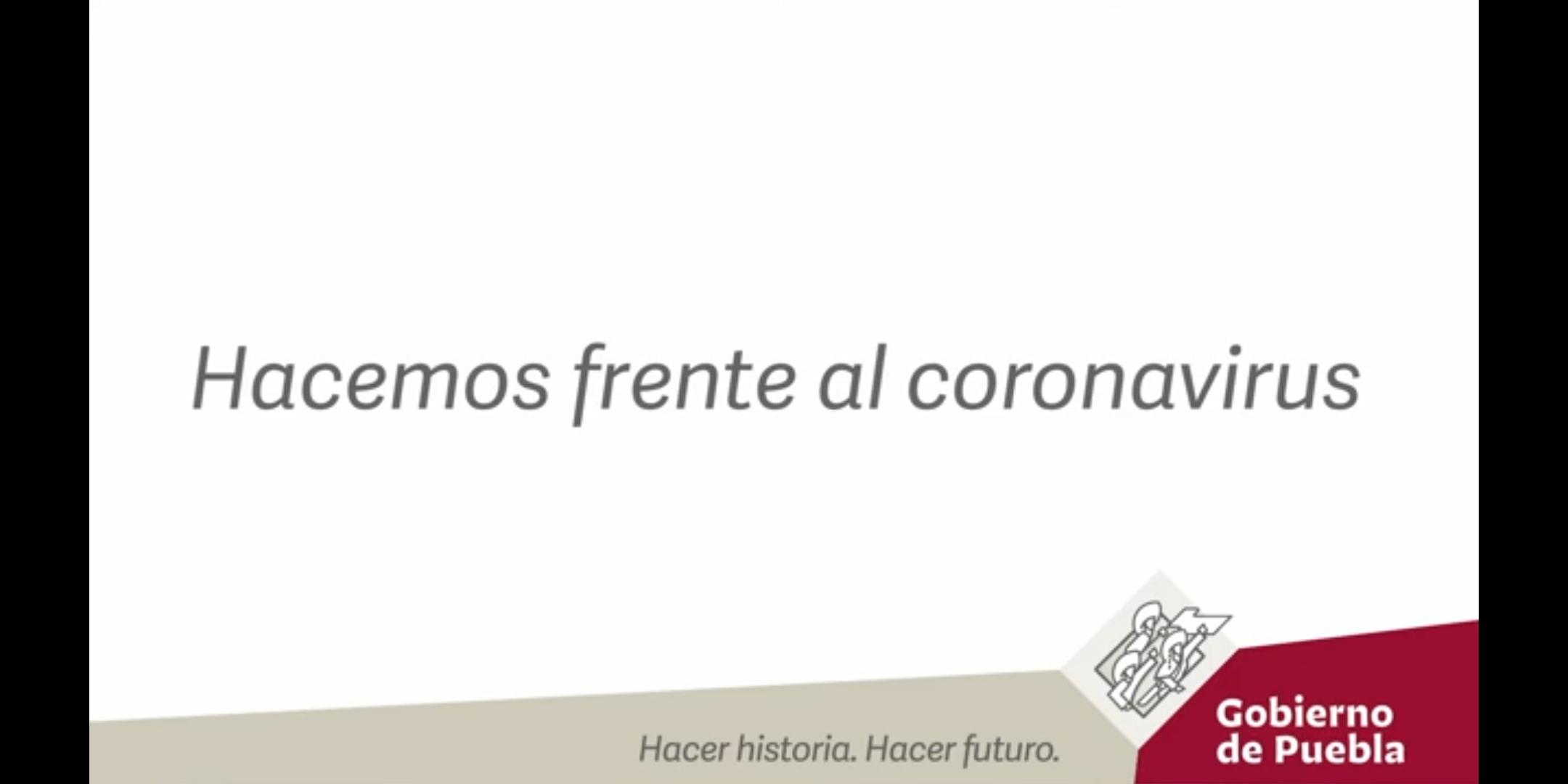 Gobierno de Puebla pone a disposición plataformas digitales para atender el tema del Coronavirus