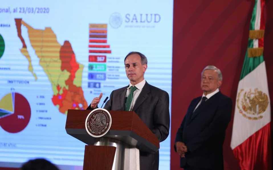 Vídeo desde Puebla: Subsecretario federal de Salud pide a los mexicanos quedarse en casa