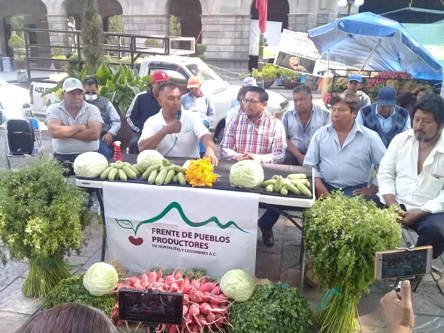 Piden productores de hortalizas ser integrados en las licitaciones del gobierno estatal