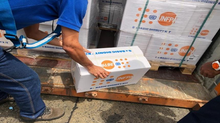 La ONU envía un cargamento de ayuda para luchar contra el coronavirus en Venezuela
