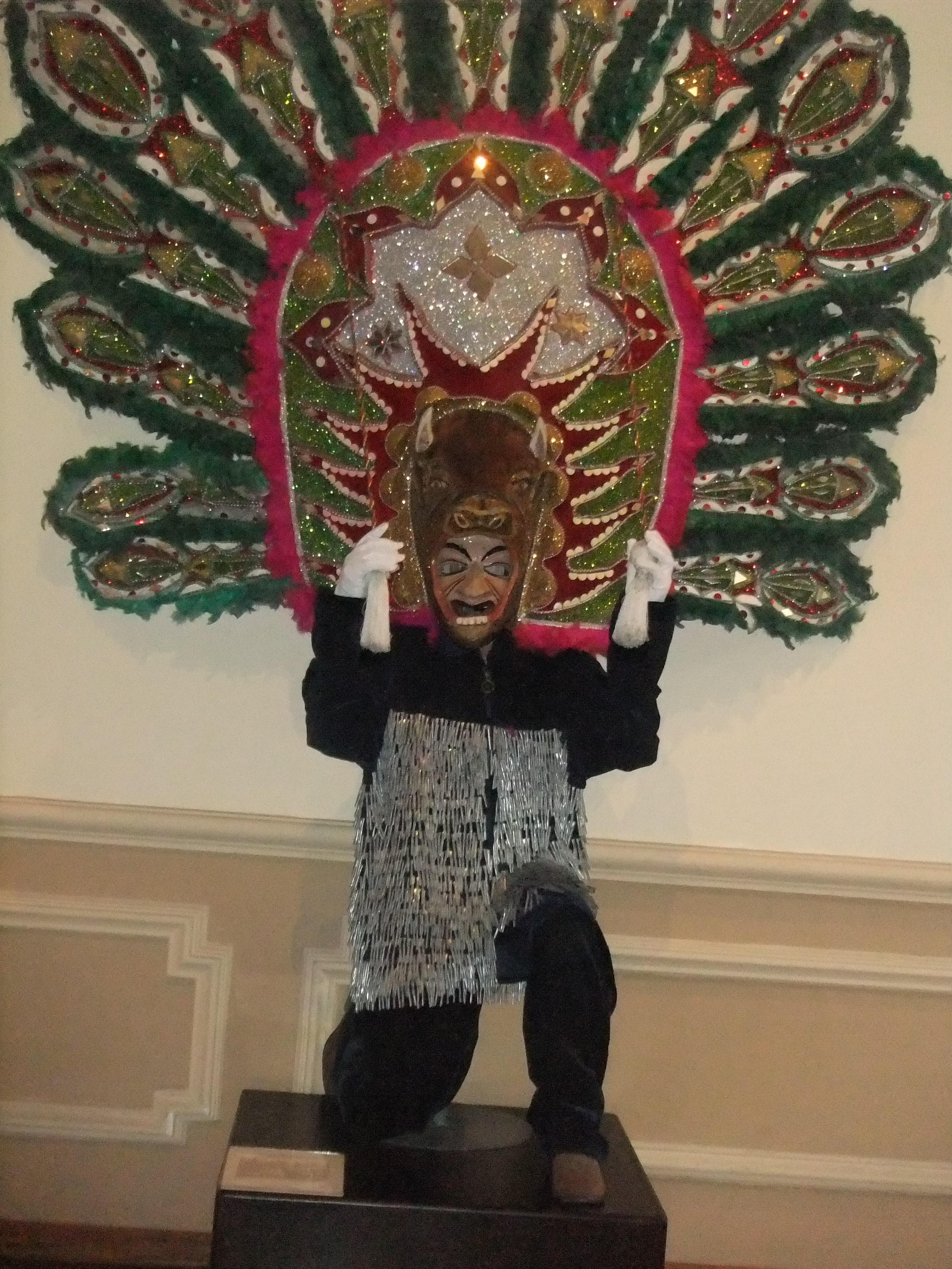 Danza de los Tlahualiles en el Museo Nacional de la Máscara
