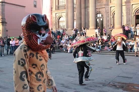 Danza de Tecuanes y máscaras