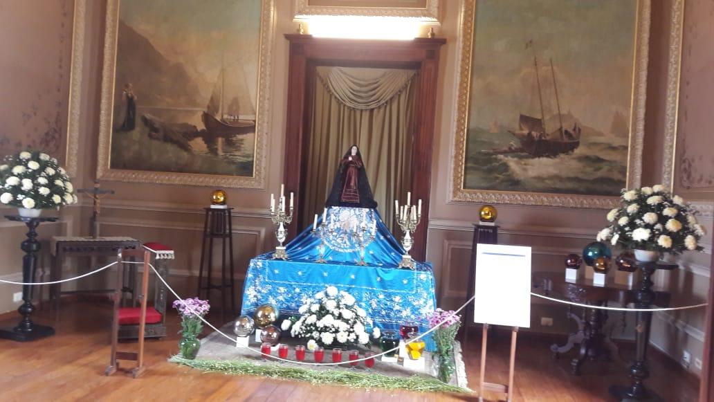 Altar de Dolores en el Museo Nacional de la Máscara