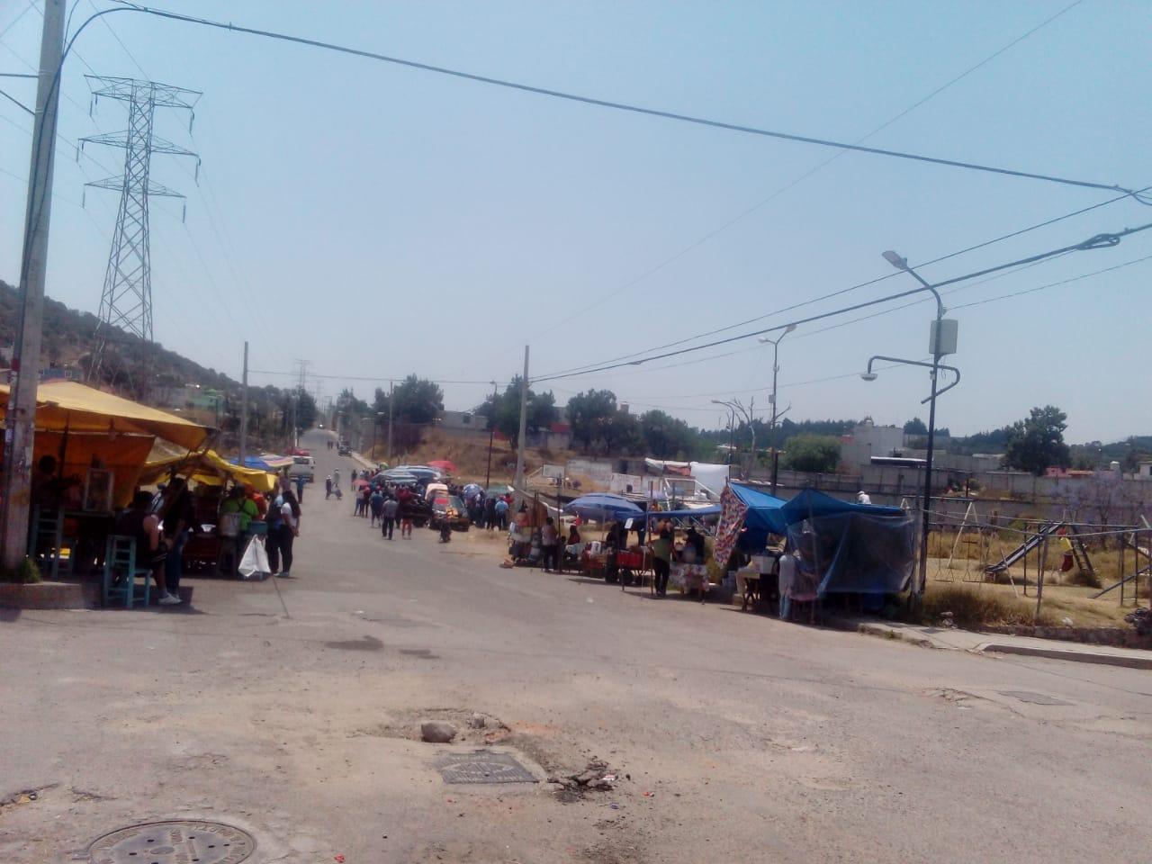 Hacen Viacrucis en Álamos Toltepec, Puebla ¡No le tienen miedo al Coronavirus!