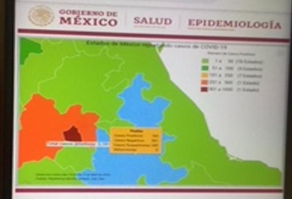 Aumenta a 174 la cifra de muertos por el Covid-19 en México