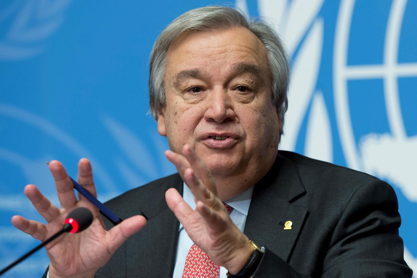 La del coronavirus no es una crisis financiera, sino humana, afirma el Secretario General