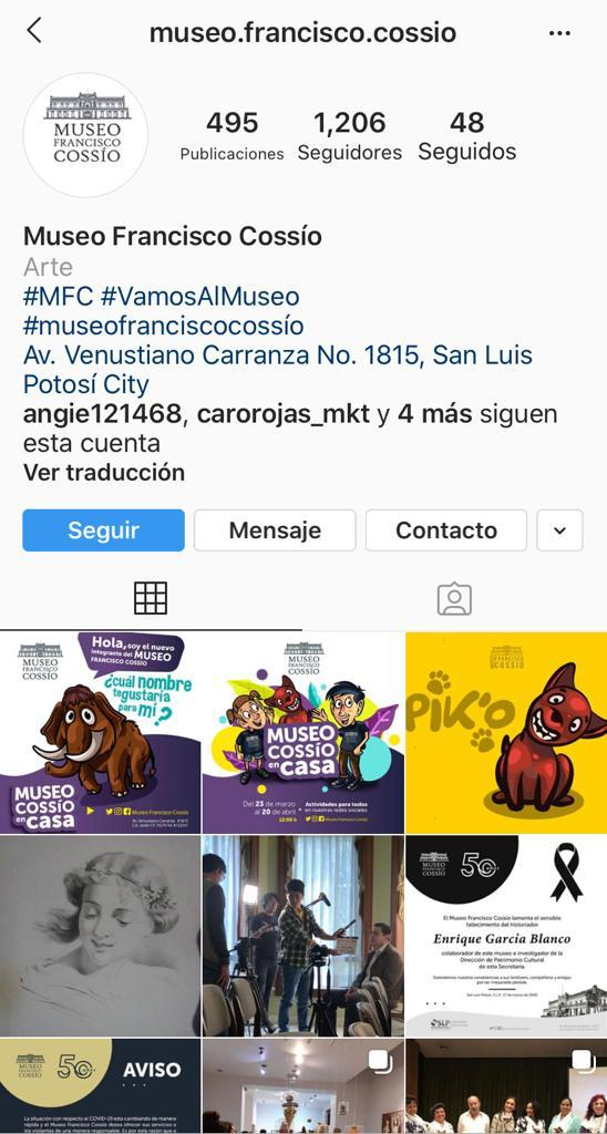 Actividades infantiles online en el Museo Francisco Cossío