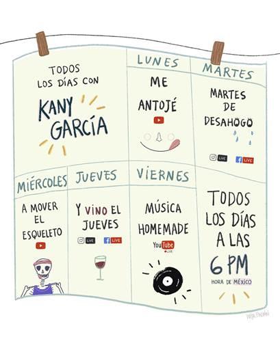 """""""Todos los días con Kany García"""": la cantante puertorriqueña se une a sus fans en la cuarentena"""