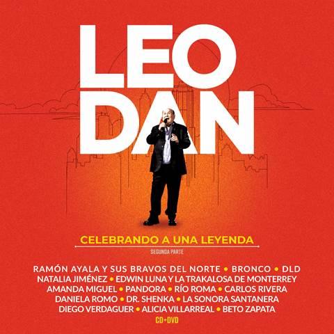 """Leo Dan presenta su nuevo disco """"Celebrando a una Leyenda, segunda parte"""""""