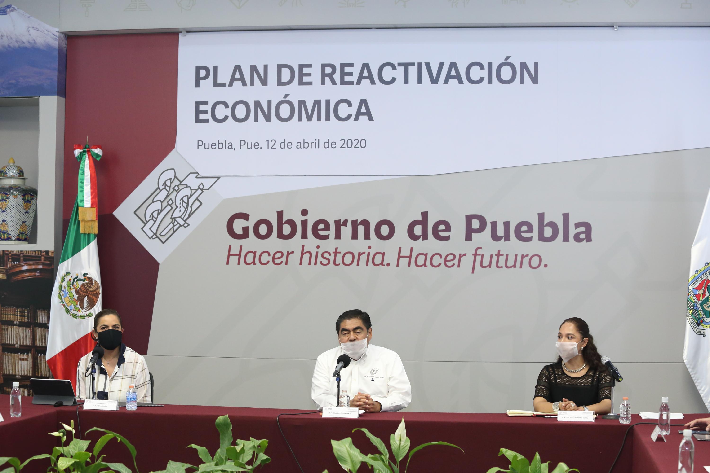 Presenta Barbosa Huerta Plan de Reactivación Económica